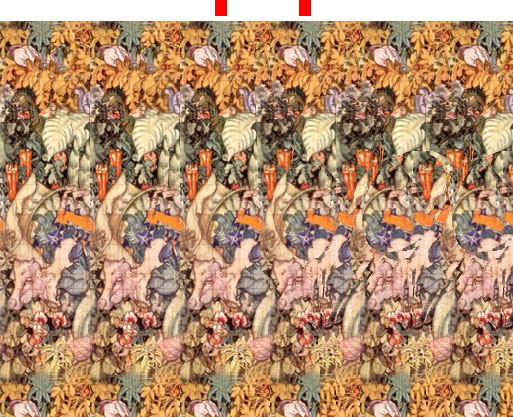 how to see magic eye 3d picture below is a magic eye 3d picture
